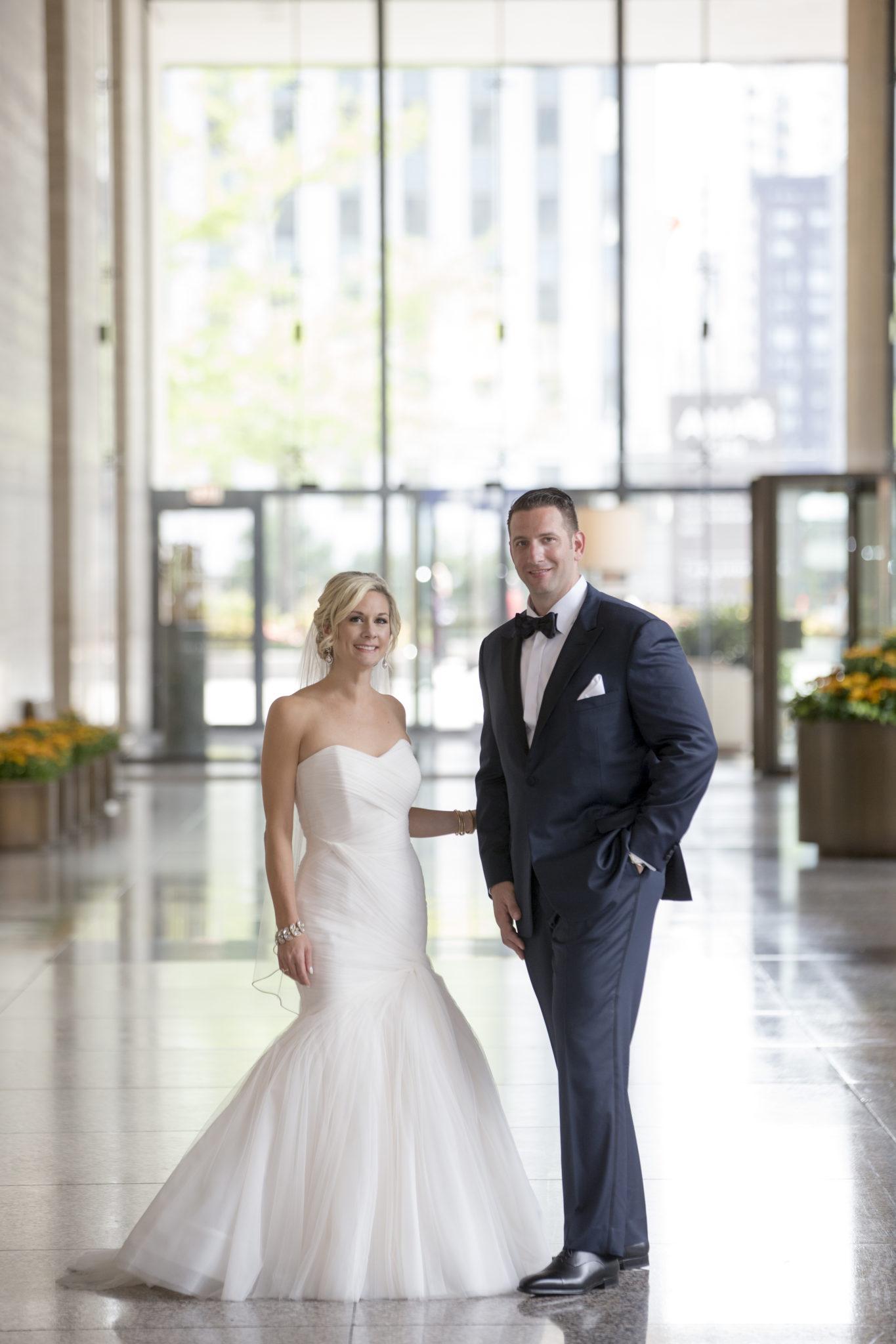 Kelly + Marc: Langham Chicago Wedding Photos