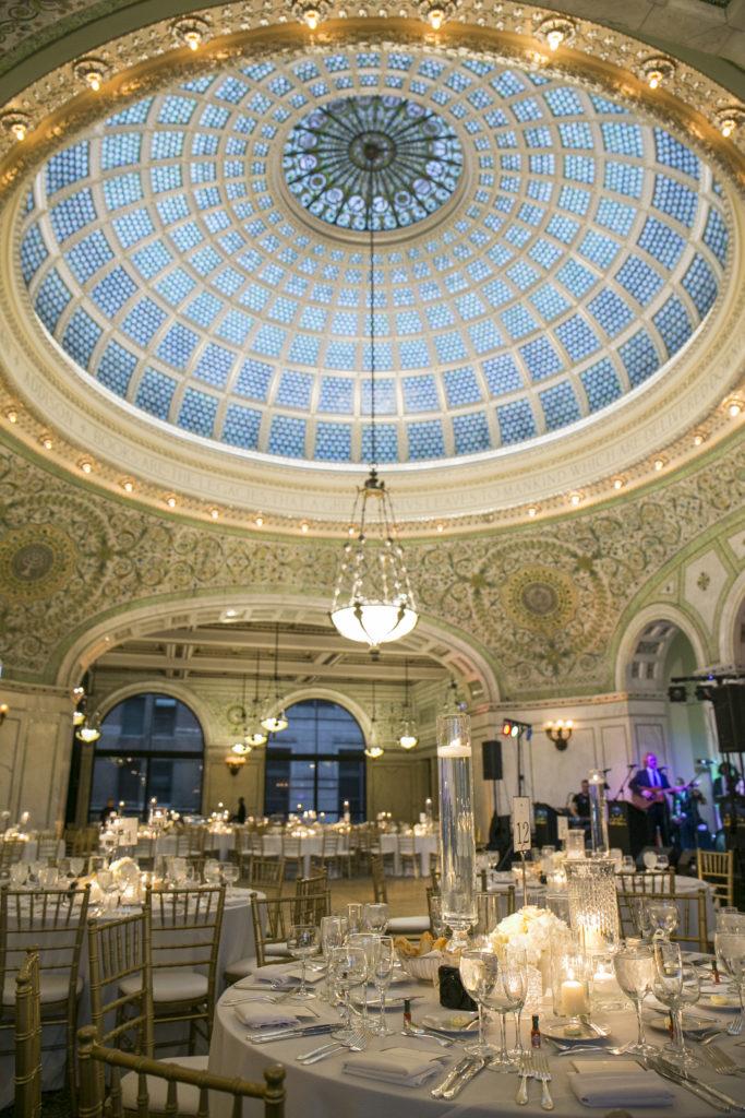 Chicago Cultural Center Wedding.Venue Chicago Cultural Center Life In Print The Collin