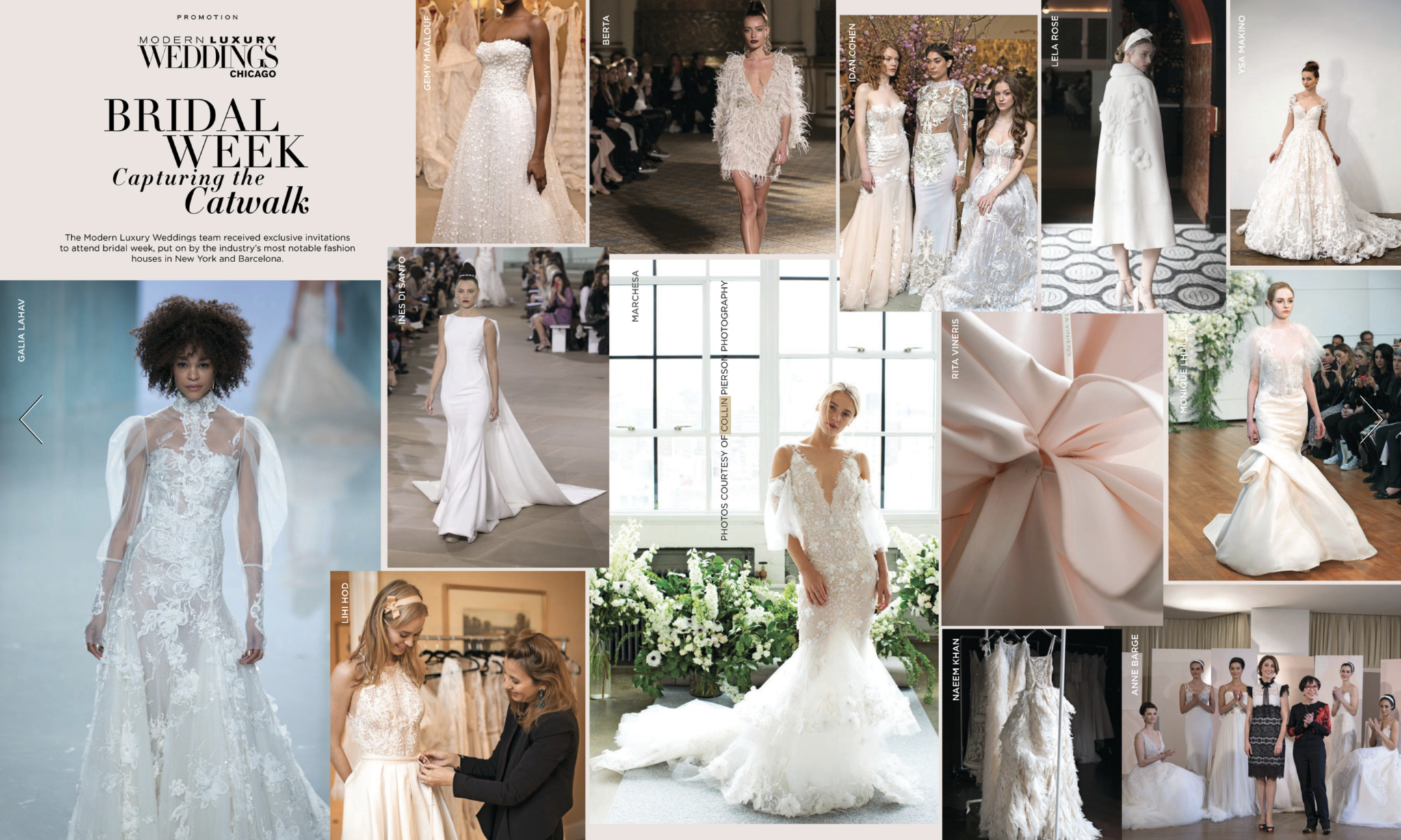 Gearing up for NY Bridal Fashion Week – Spring 17 featured in Modern Luxury Weddings