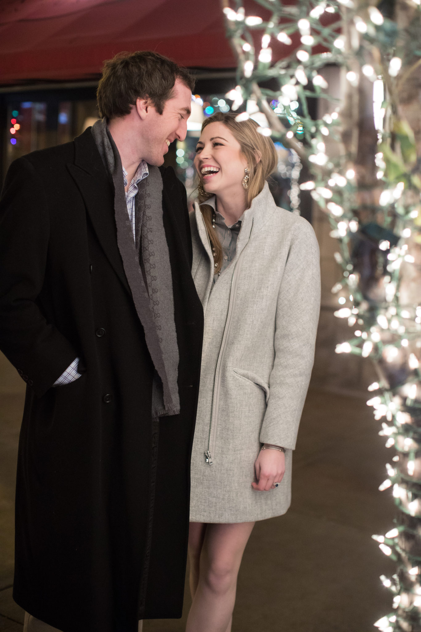 Julia + Andrew: Chicago Holiday Engagement Session