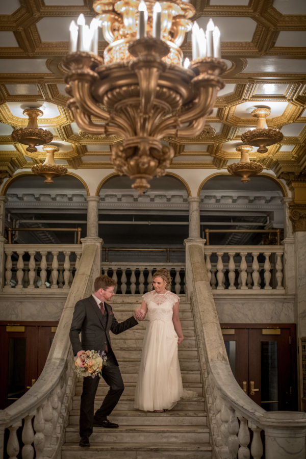 Erika + William, Chicago Athletic Association Hotel