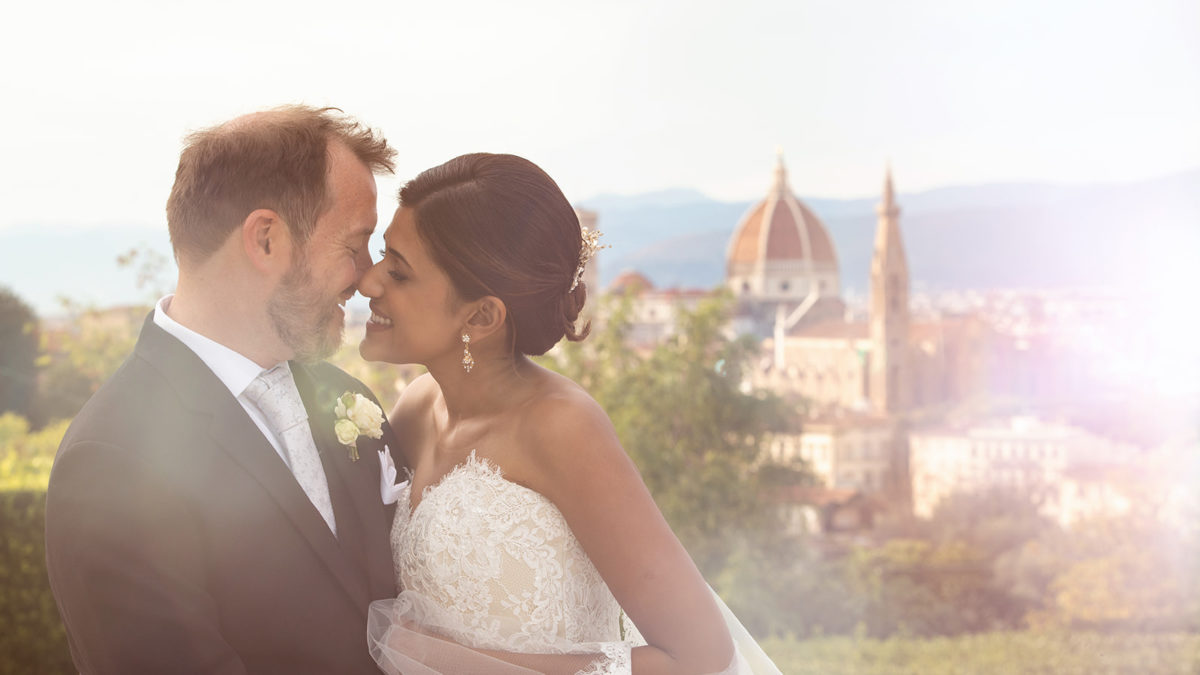 Terrace wedding in the heart of Florence